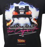 Back To The Future Back To The Future Flux Capacitor T-Shirt Zwart