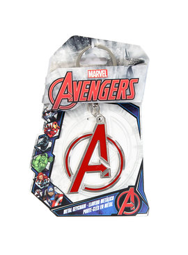 The Avengers Marvel Comics The Avengers Logo 3D Metal Keychain