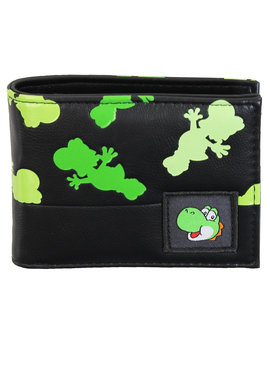 Super Mario Bros Nintendo Super Mario Yoshi All Over Print Bifold Wallet