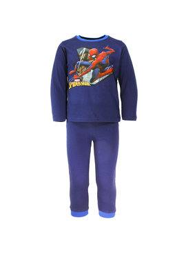 Spider-Man Marvel Spider-Man Kids Pyjama Donker Blauw