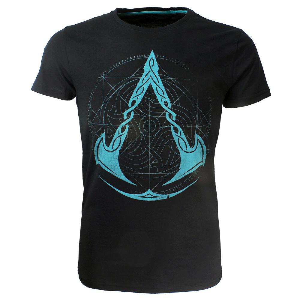 Assassin's Creed Assassin's Creed Valhalla Crest Grid T-Shirt Zwart