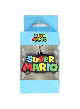 Super Mario Bros Nintendo Super Mario Bros Logo 3D Keychain