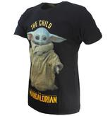 Star Wars Star Wars The Mandalorian Yoda T-Shirt Zwart