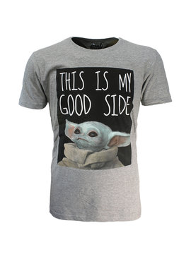 Star Wars Star Wars The Mandalorian Yoda The Child This Is My Good Side T-Shirt
