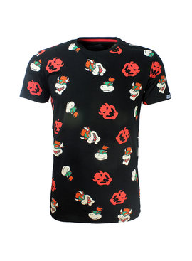 Super Mario Bros Nintendo Super Mario Bros Bowser All Over Print T-Shirt
