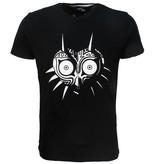 The Legend of Zelda The Legend of Zelda Skull Kid Majora's Mask T-Shirt Zwart