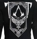 Assassin's Creed Assassin's Creed Valhalla Crest Banner Zipper Hoodie Black