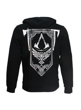 Assassin's Creed Assassin's Creed Valhalla Crest Banner Zipper Hoodie