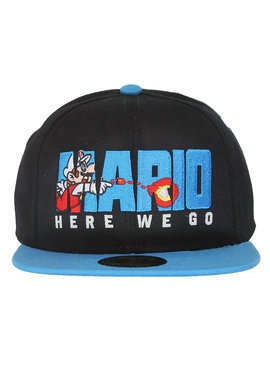 Super Mario Bros Nintendo Super Mario Bros Here We Go Snapback Cap