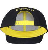 Pokémon Pokémon Olympics Pikachu Hero Snapback Cap Pet Zwart