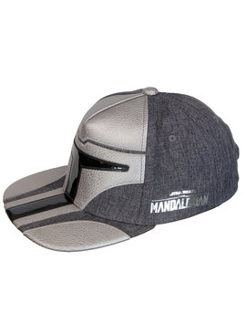Star Wars Star Wars The Mandalorian Helmet Snapback Cap Pet