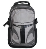 Star Wars Star Wars The Mandalorian Helmet Armor Backpack Rugtas Zilver / Grijs