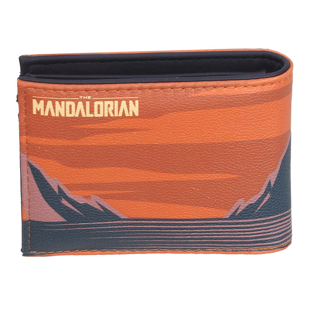 Star Wars Star Wars The Mandalorian Artsy Bifold Wallet Portemonnee Multicolor