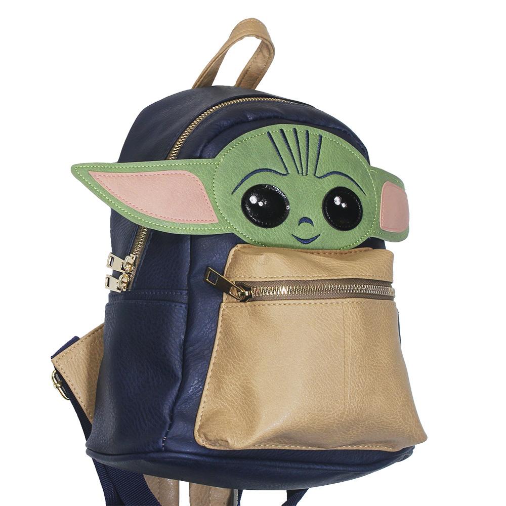 Star Wars Star Wars The Mandalorian Yoda The Child Backpack 22cm Blue