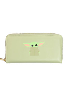 Star Wars Star Wars The Mandalorian Yoda The Child Zipper Wallet