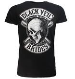 Band Merchandise Black Veil Brides Hollywood Band T-Shirt Zwart