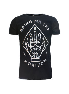 Band Merchandise Bring Me The Horizon Diamond Hand T-Shirt