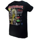 Band Merchandise Iron Maiden Killers Album Cover Band T-Shirt Zwart