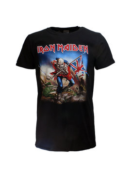 Band Merchandise Iron Maiden The Trooper Band T-Shirt