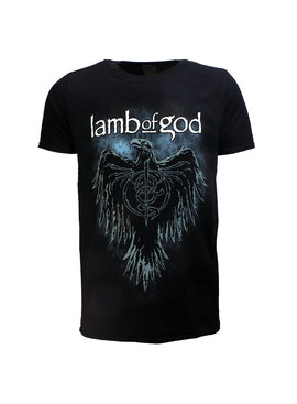 Band Merchandise Lamb Of God Phoenix Band T-Shirt