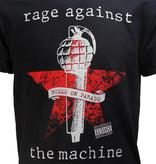 Band Merchandise Rage Against The Machine Bulls On Parade T-Shirt Zwart