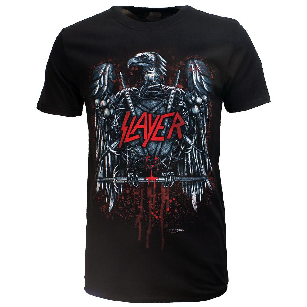 Band Merchandise Slayer Eagle Ammunition Band T-Shirt Zwart