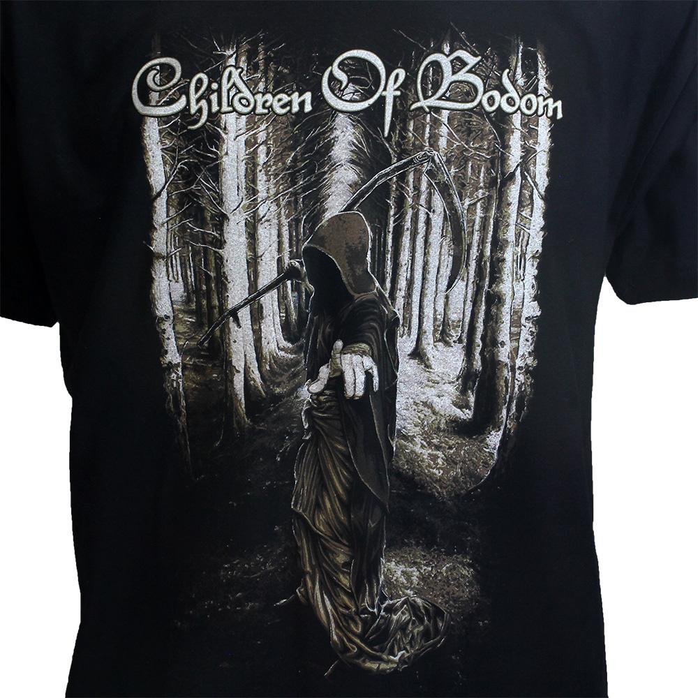 Band Merchandise Children Of Bodom Death Wants You T-Shirt Zwart