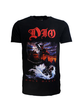 Band Merchandise Dio Holy Diver Official T-Shirt