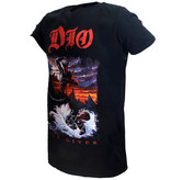 Band Merchandise Dio Holy Diver Official T-Shirt Zwart