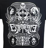 Band Merchandise Escape The Fate Issues Official Band T-Shirt Zwart