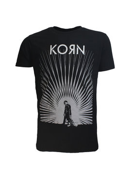 Band Merchandise Korn Radiate Glow Official Band T-Shirt