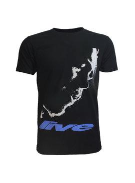 Band Merchandise Post Malone Stoney Live Close-up T-Shirt