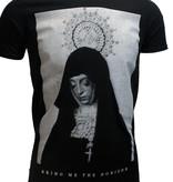 Band Merchandise Bring Me The Horizon Nun T-Shirt Zwart