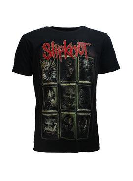 Band Merchandise Slipknot New Masks Official Band T-Shirt