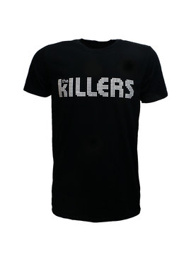 Band Merchandise The Killers Dots Logo T-Shirt