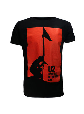 Band Merchandise U2 Under A Blood Red Sky Official Band T-Shirt