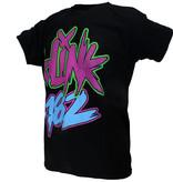 Band Merchandise Blink-182 Neon Logo T-Shirt Zwart