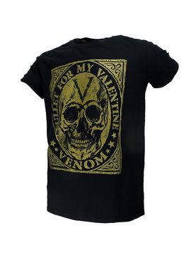 Band Merchandise Bullet For My Valentine Venom Skull T-Shirt