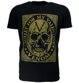 Band Merchandise Bullet For My Valentine Venom Skull T-Shirt Black