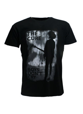 Band Merchandise The Cure Boys Don't Cry Official Band T-Shirt