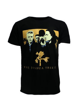 Band Merchandise U2 The Joshua Tree Official Band T-Shirt