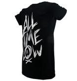 Band Merchandise All Time Low Scratch Official Band T-Shirt Zwart