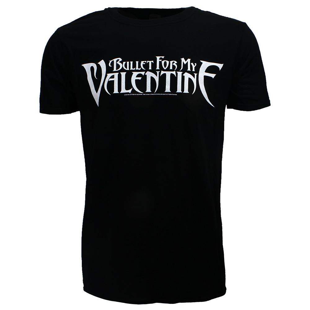 Band Merchandise Bullet For My Valentine BFMV Logo T-Shirt Zwart