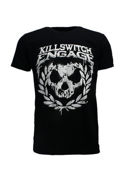 Band Merchandise Killswitch Engage Skull Spraypaint T-Shirt