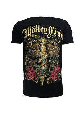 Band Merchandise Mötley Crüe Exquisite Dagger T-Shirt