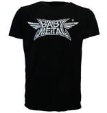 Band Merchandise Babymetal Logo T-Shirt Zwart