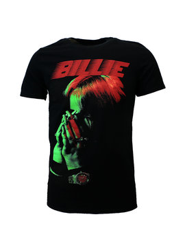 Band Merchandise Billie Eilish Hands Face T-Shirt
