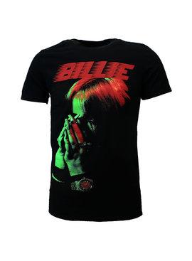 Band Merchandise Billie Eilish Hands Face T-Shirt