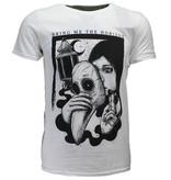 Band Merchandise Bring Me The Horizon Plague T-Shirt Wit