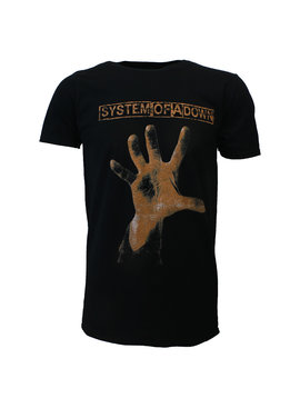 Band Merchandise System Of A Down Hand T-Shirt
